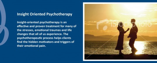 Insight Oriented Psychotherapy